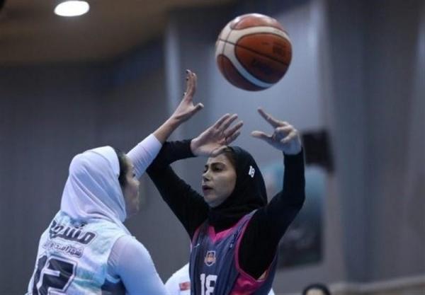 لیگ برتر بسکتبال بانوان، دو بازی سخت سپهرداد برابر نمایندگان آبادان و قزوین