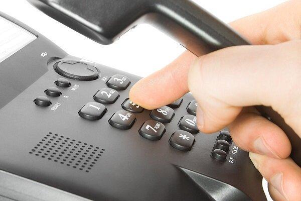 ارتباط تلفنی مشترکان 8 مرکز مخابراتی دچار اختلال می گردد