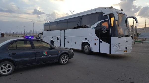 خبرنگاران نظارت بر ناوگان حمل و نقل عمومی جاده ای در استان سمنان تشدید شد