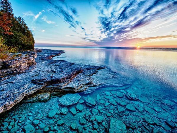 سفر با کشتی کروز و بازدید از 5 دریاچه بزرگ میان کانادا و آمریکا