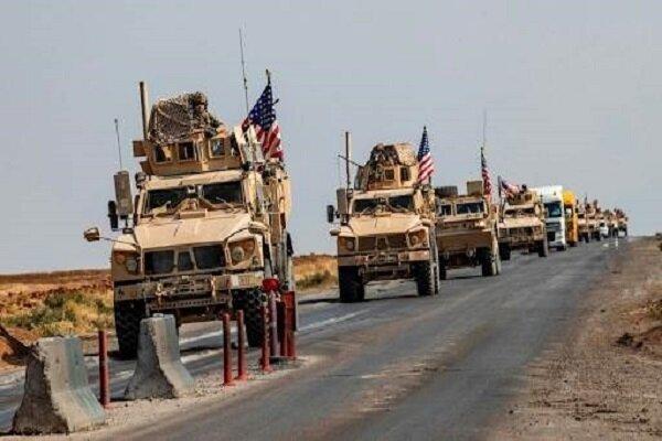 هدف قرار دریافت کاروان نظامیان آمریکا در بغداد