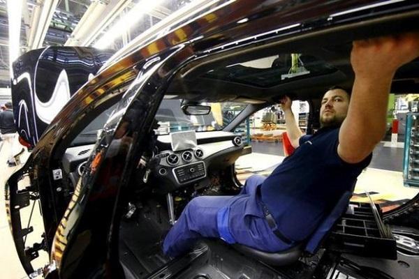 سقوط 8.5 درصدی تولیدات صنعتی آلمان