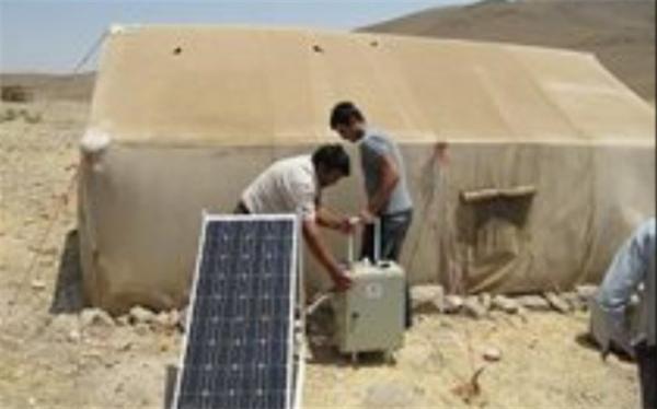 وزارت نیرو به 1000 خانوار عشایری پنل خورشیدی واگذار کرد