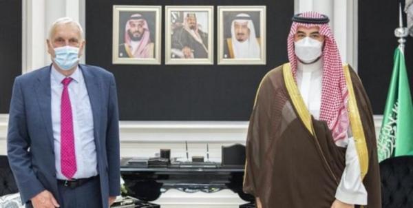 ملاقات فرستاده نخست وزیر انگلیس با معاون وزیر دفاع عربستان