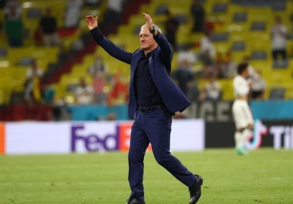 یورو 2020، دشان: می دانستم بازیکنانم از پس بازی با آلمان برمی آیند، حریف آماده جنگیدن بود