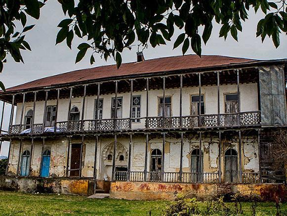 خانه قدیمی امان الله خان ساسانی گیلان