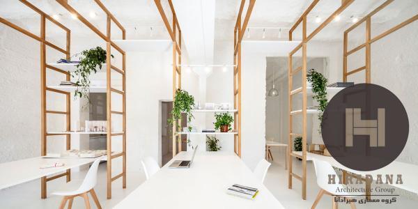 بازسازی اداری دفتر طراحی چندرشته ای در شهر بارسلون